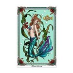Celtic Mermaid Mini Poster Print