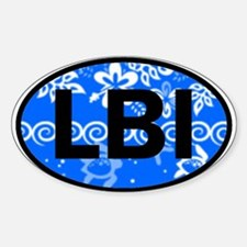 LBI OVAL - NEW Oval Decal