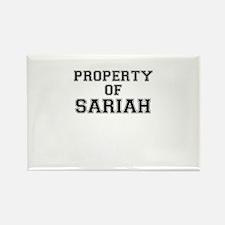 Property of SARIAH Magnets