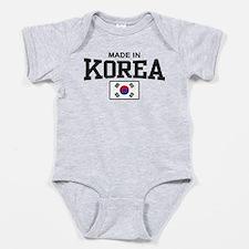 Cute Korean girl Baby Bodysuit