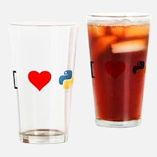 Cool Python Drinking Glass