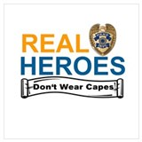Police cape Posters