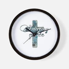 Unique Faith hope Wall Clock