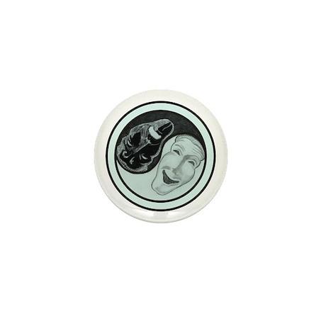 Masks Yin Yang Mini Button (10 pack)