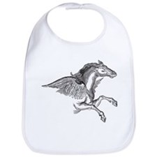 Pegasus Illustration Bib