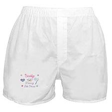Brooklyn - Mommy's Little Pri Boxer Shorts