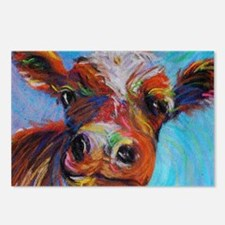 Bessie The Cow Postcards (package Of 8)