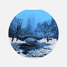 Central Park NY Bridge at Twilight Button