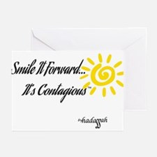 Smile It Forward By Hadassah Note Greeting Cards