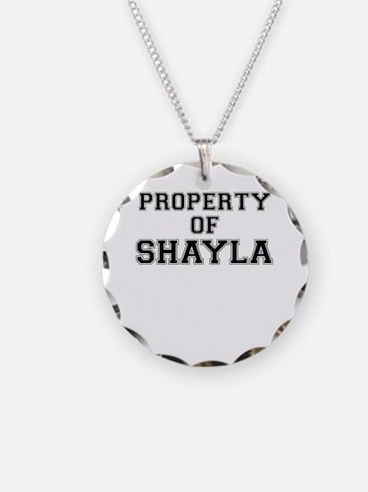 Property of SHAYLA Necklace