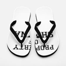 Property of SHAYNA Flip Flops