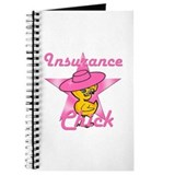 Insurance chick Journals & Spiral Notebooks