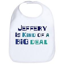 Jeffery is a big deal Bib