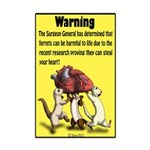 Ferret Heart Stealers Mini Poster Print