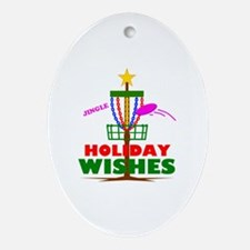 Cute Wish Oval Ornament