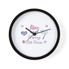 Elena - Mommy's Little Prince Wall Clock