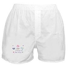 Ella - Mommy's Little Princes Boxer Shorts