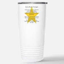 Hamilton Lottery Travel Mug