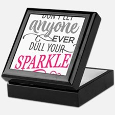 DULL YOUR SPARKLE Keepsake Box