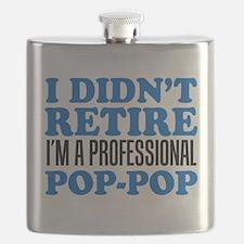 Didn't Retire Professional Pop-Pop Flask