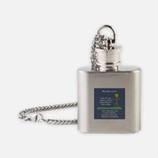 My Papa's Love Flask Necklace