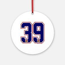 CZ Czech Ceská Hockey 39 Ornament (Round)
