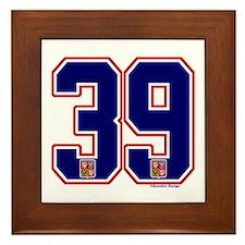 CZ Czech Ceská Hockey 39 Framed Tile
