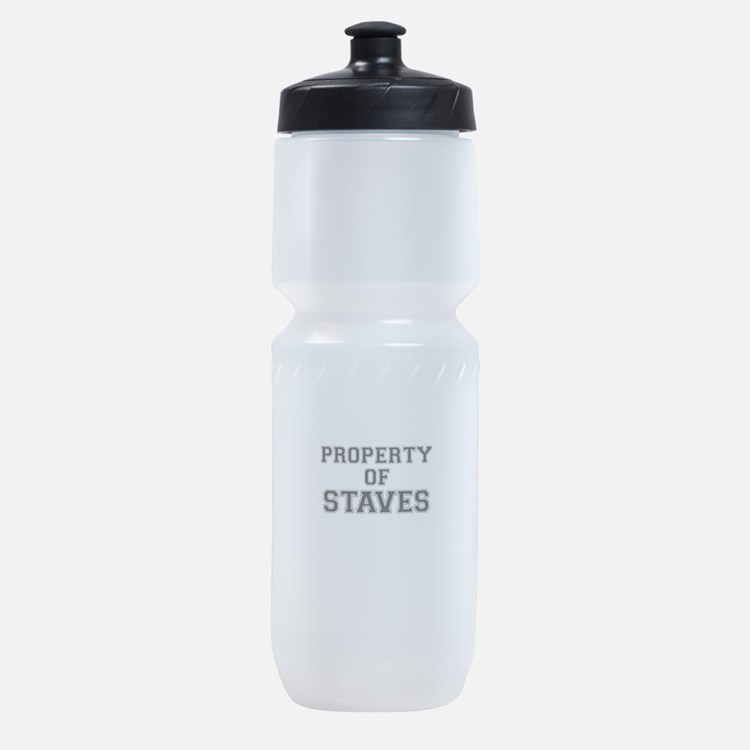 Property of STAVES Sports Bottle