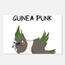 Guinea Punk Postcards (Package of 8)
