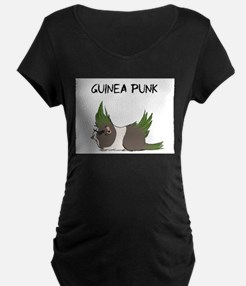 Guinea Punk Maternity T-Shirt