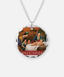 Funny Chinese christian Necklace