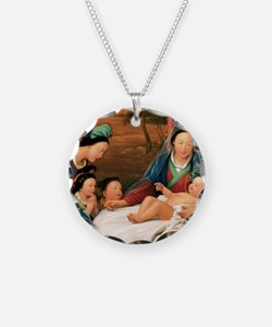 Unique Chinese christian Necklace