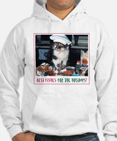 Holiday Kitty - Best Fishes! Hoodie