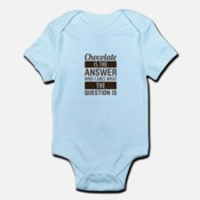 Chocolate Answer Body Suit
