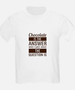 Chocolate Answer T-Shirt