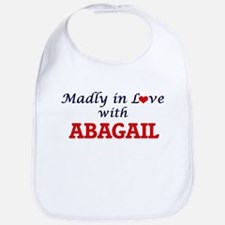 Madly in Love with Abagail Bib