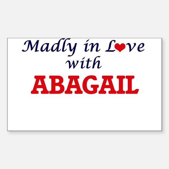 Madly in Love with Abagail Decal