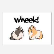Wheek Guinea pigs Postcards (Package of 8)
