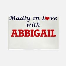 Madly in Love with Abbigail Magnets