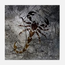 Cute Scorpion Tile Coaster