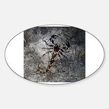 Cute Scorpion Sticker (Oval)