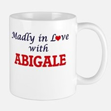 Madly in Love with Abigale Mugs