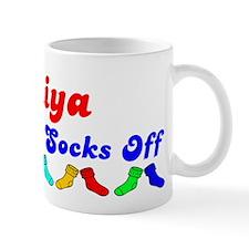 Aniya Rocks Socks (B) Coffee Mug