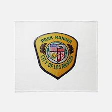 Los Angeles Park Ranger Throw Blanket