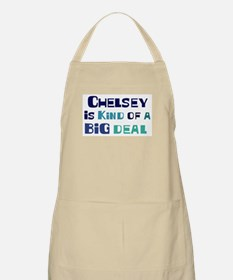 Chelsey is a big deal BBQ Apron