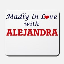 Madly in Love with Alejandra Mousepad
