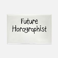 Future Horographist Rectangle Magnet
