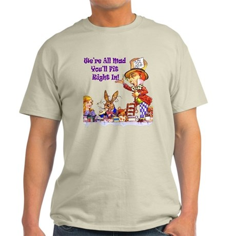 MAD HATTER RULES Light T-Shirt