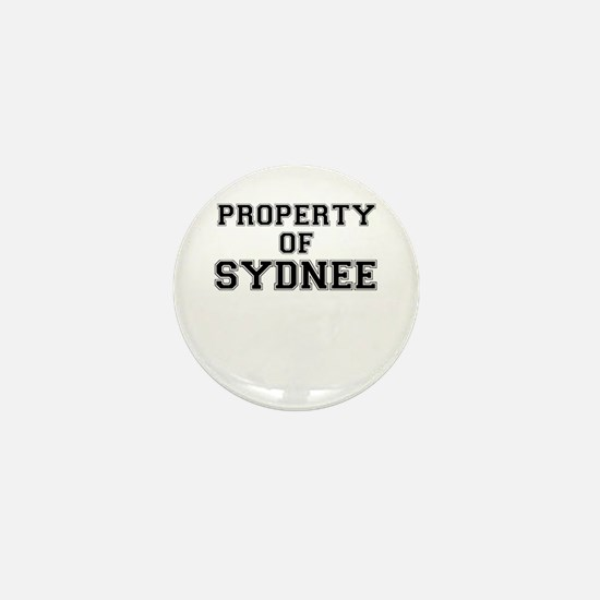 Property of SYDNEE Mini Button