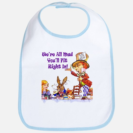 MAD HATTER RULES Bib